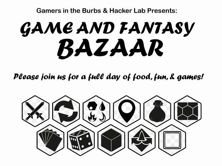 Gamers in the Burbs - MEETUP