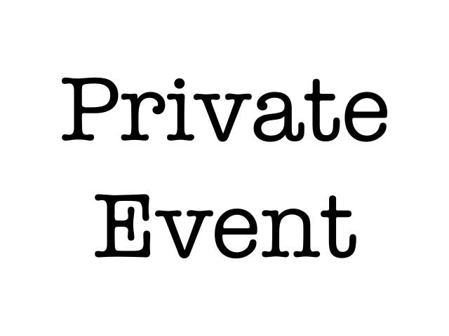 Private Event - ROCKLIN