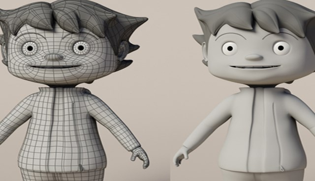 ROC-KIDS: 3D Character Development and Animation