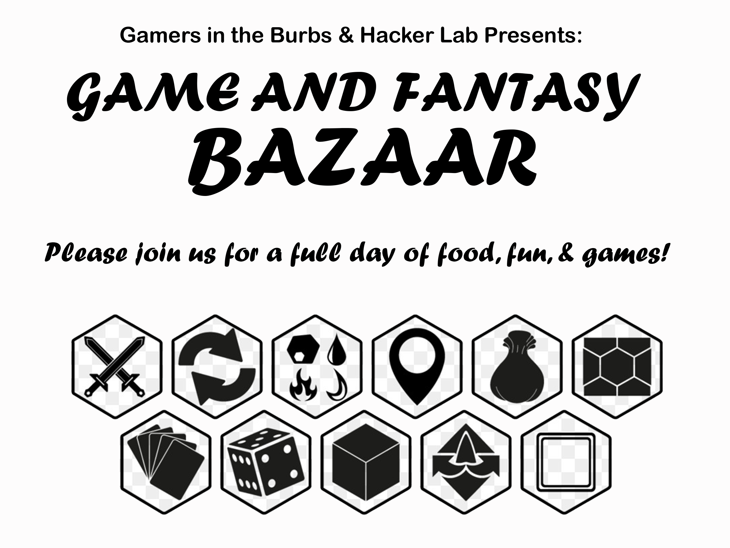 CANCELLED: Gamers in the Burbs